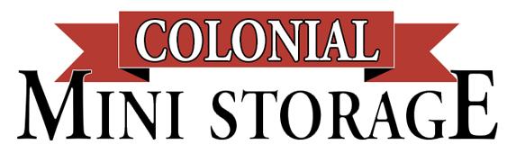 Colonial Mini Storage Logo